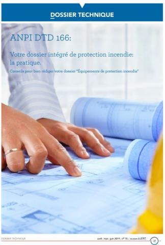 DTD 166 Dossier intégré de protection incendie : La pratique