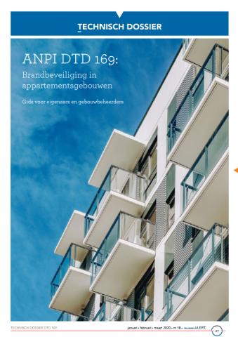 DTD 169 Brandbeveiliging in appartementsgebouwen