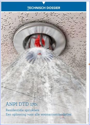 DTD170 Residentiële sprinklers