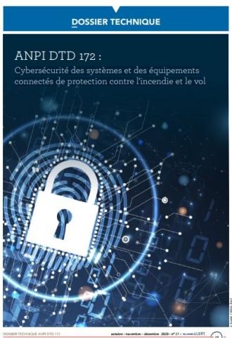 DTD 172 Cybersécurité des systèmes et des équipements connectés de protection contre l'incendie et le vol