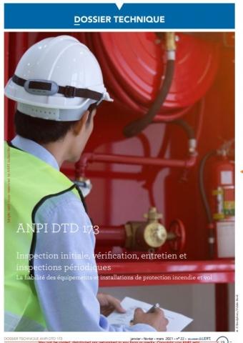 DTD 173 Verification, maintenance, inspection (F/N)