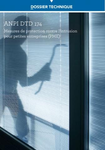 DTD 174 Mesures de protection contre l'intrusion pour petites entreprises PME