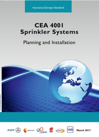 CEA 4001 - 2017 Sprinkler systems - Planning and installation