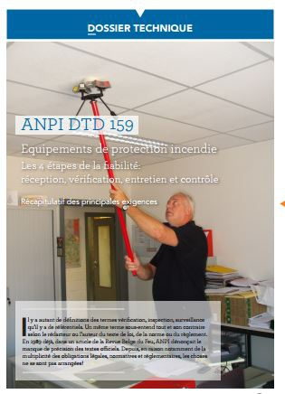 DTD 159 Equipements de protection incendie - Vérification, entretien, contrôle