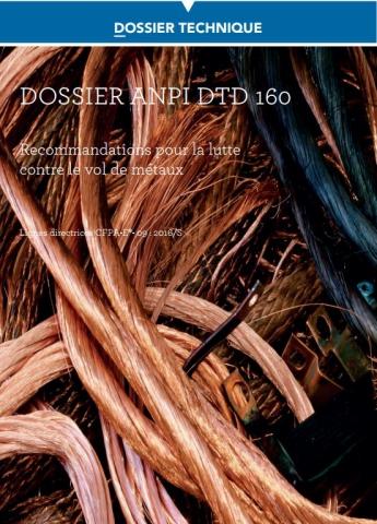 DTD 160 Recommandations pour la lutte contre le vol de métaux