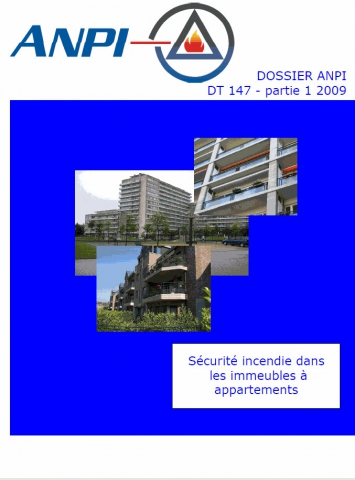 DTD 147  Sécurité incendie dans les immeubles à appartements