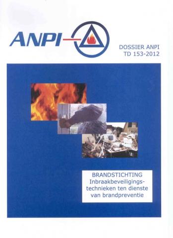 DTD 153 Brandstichting - Inbraakbeveiligingstechnieken ten dienste van brandpreventie