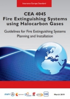 CEA 4045 - Fire extinguishing systems using halocarbon gases (E)