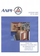 DTD 51 Check liste prévention incendie dans les établissements industriels et commerciaux