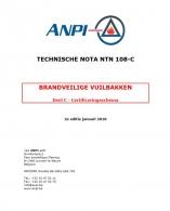 NTN 108-C Brandveilige vuilbakken : Deel C - Certificeringsschema