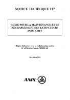 NTN 117 Guide for the maintenance and recharging of fire extinguishers (F/NL)G