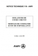 NTN 118 Isolateurs de court-circuit -
