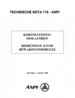 NTN 118 Kortsluitingsisolatoren