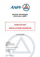 NTN 126-I Reliability of sprinkler systems (F/N)