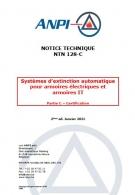 NTN 128-C Systèmes d'extinction automatique pour armoires électriques et IT : Partie C