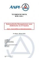 NTN 128-L Automatische blussystemen voor elektriciteitskasten en IT-kasten - Voorschriften en laboratoriumtesten