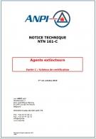 NTN 161-C Agents extincteurs : Partie C : Schéma de certification
