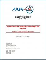 NTN 176-I Systèmes électroniques de dosage de mousse : Partie I :  Essais sur place et normes