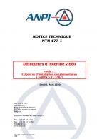 NTN 177-I Détecteurs d'incendie vidéo / Videobrandtectoren