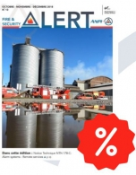 PACK 10 % FIRE & SECURITY ALERT MAGAZINE 2018 (F / N)