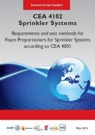 CEA 4102  Foam proportioners for sprinkler systems according to CEA 4001
