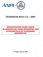 NTN 112 Blusmodules voor stookketels
