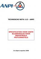 NTN 113 Blusmodules voor industriële frituurketels