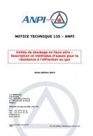 NTN 135 Unités de stockage en lieux sûrs - Description et méthodes d'essais pour la résistance à l'effraction au gaz