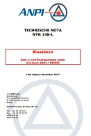 NTN 148-L Blusdeken : Bijkomende eisen voor het merk ANPI / BENOR