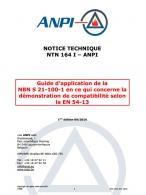 NTN 164-I Guidance to NBN S 21-100-1 concerning EN 54-13 (F/N)
