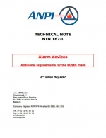 NTN 167-L Smoke alarm devices additional requirements for the brand BOSEC