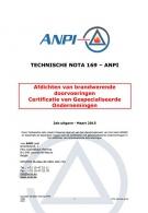 NTN 169 Afdichten van brandwerende doorvoeringen - Certificatie van gespecialiseerde ondernemingen