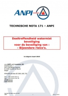 NTN 171  Doeltreffendheid watermist beveiliging voor de beveiliging van bijzondere risico's.