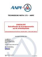 NTN 172 Checklist Brandpreventie op de arbeidsplaats
